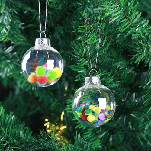Glass Ball Ornaments Decorate: Aliexpress.com : Buy 10 13 15mm Transparent Christmas