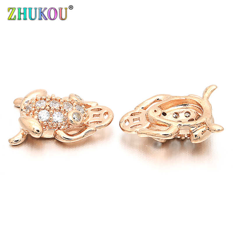 20pcs 11x16mm exquisite and interesting fish alloy fashion jewelry accessories