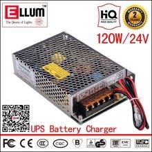 4А ИБП 24 В Аккумулятор Резервного Копирования Зарядное Устройство AC DC CE ROHS утверждение Постоянного Напряжения 120 Вт Импульсный Источник Питания с ИБП функция