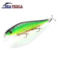 цены SEAPESCA 14cm 23g Wobbler Fishing Lure Minnow Crankbait Peche Bass Trolling iscas artificiais Hard Bait Pike Carp Fishing JK8