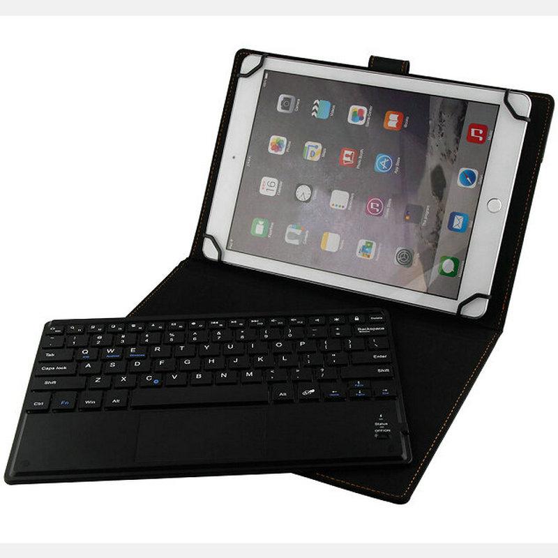 Wireless Bluetooth Keyboard Touchpad Russian Language PU