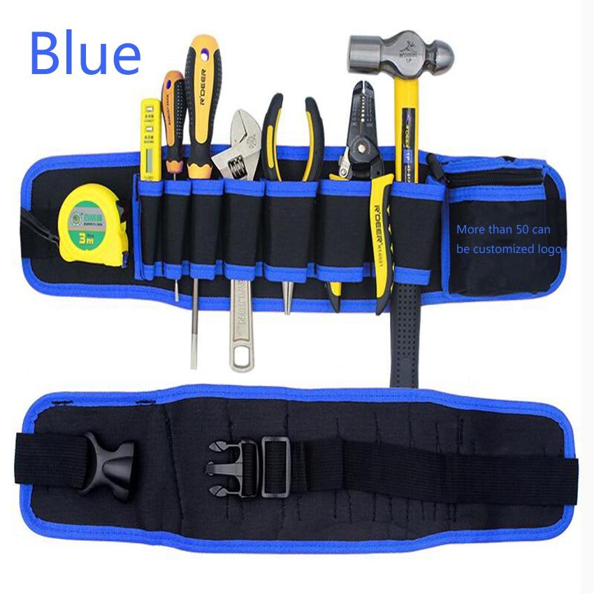 Kuummüük mitmevärvilised elektrikud tööriistavööde - Tööriistade hoiustamine - Foto 6