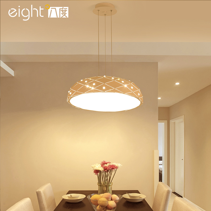 все цены на Nordic restaurant hanging lights modern simple single head Pendant Lights round personality creative led dining room lamps