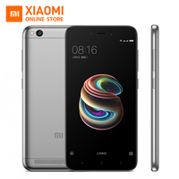 Xiaomi Redmi 5A Mobile Phone Snapdragon 425 Quad Core CPU 2GB 16GB 5.0 Inch 13.0MP Camera 3000mAh Chinese and English Only