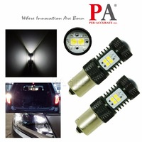 PA LED 2pcs x White BA15S 1156 LED 14SMD High Power SMD 3030 Backup Reverse Light Bulb