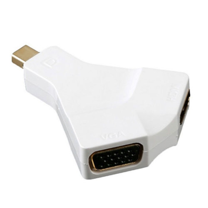 4K 2K Mini DP Mini Display Port DisplayPort 1.2 to HDMI VGA Converter Adapter Adaptor for MacBook Pro Air for iMac