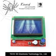 Accesorio de La Impresora 3D RAMPS1.4 para TEVO viuda Negro 12864 LCD panel de control de la impresora 3D controlador de Pantalla con el envío libre