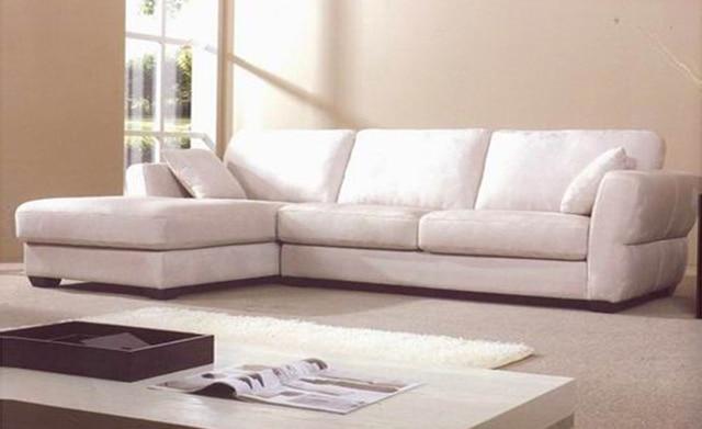 Free Shipping Modern Fabric Sofa 2017 French Design New Living Room L Shaped Corner