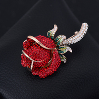 pin on patch vintage Red rose beaded badge patches for clothing parches termoadhesivos para ropa stickers for clothes