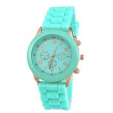 О желе резиновые Для женщин кварцевые часы дамы feminino Часы Montre Femme Homme платье часы Обувь для мальчиков Обувь для девочек Повседневное наручные часы