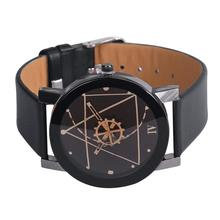 SmileOMG Fashion Women Quartz Dial Leather Analog Wrist Watch Watches Round Case Aug 18