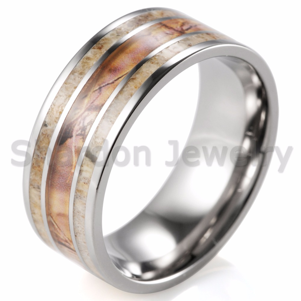 pink camouflage rings with just enough country style duck band wedding ring 5mm wide mossy oak ring realtree engagement