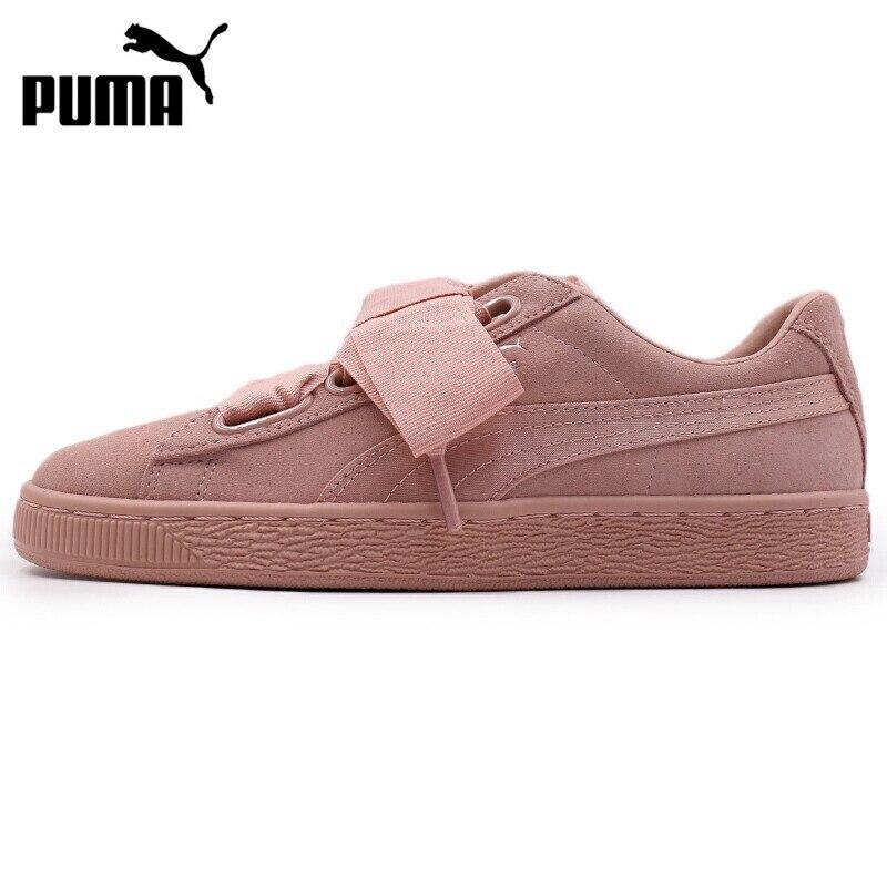 US $127.84 22% OFF Oryginalny nowy nabytek PUMA Suede Heart EP damskie buty na deskorolkę Sneakers w Skateboarding od Sport i rozrywka na AliExpress