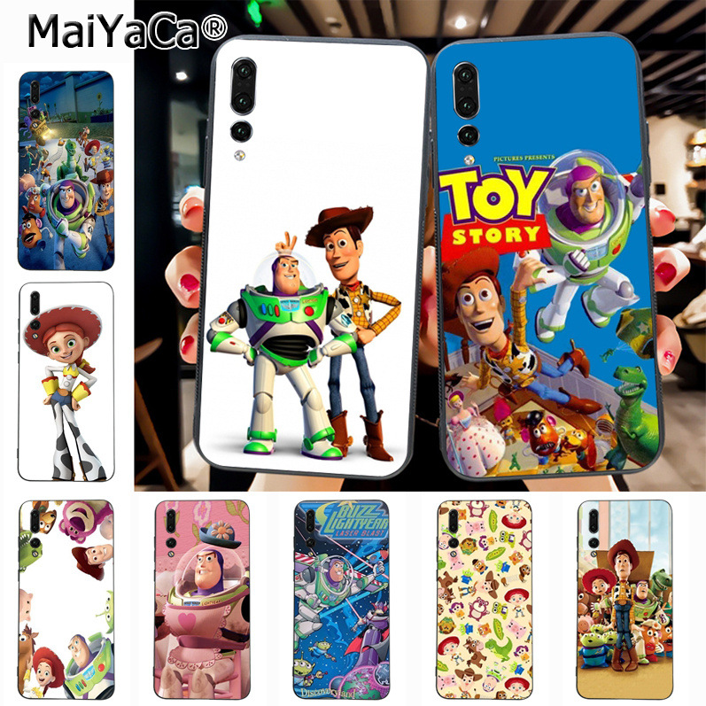 Maiyaca Toy Story Alien Buzz Luxury TPU Rubber Phone Case cover for Huawei P20 P20 pro Mate10 P10 Plus Honor9 cass(China)