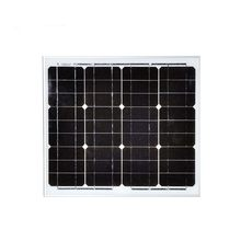 Monocrystalline 30W Placa Solar Module Sun Panel 12v Solar Panel Solar Battery Prices Photovoltaic Caravan Camping Boat(China)