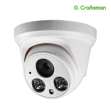 G. Craftsman аудио 5MP POE Full-HD IP Камера купол инфракрасный Ночное видение CCTV видеонаблюдения безопасности P2P удаленного