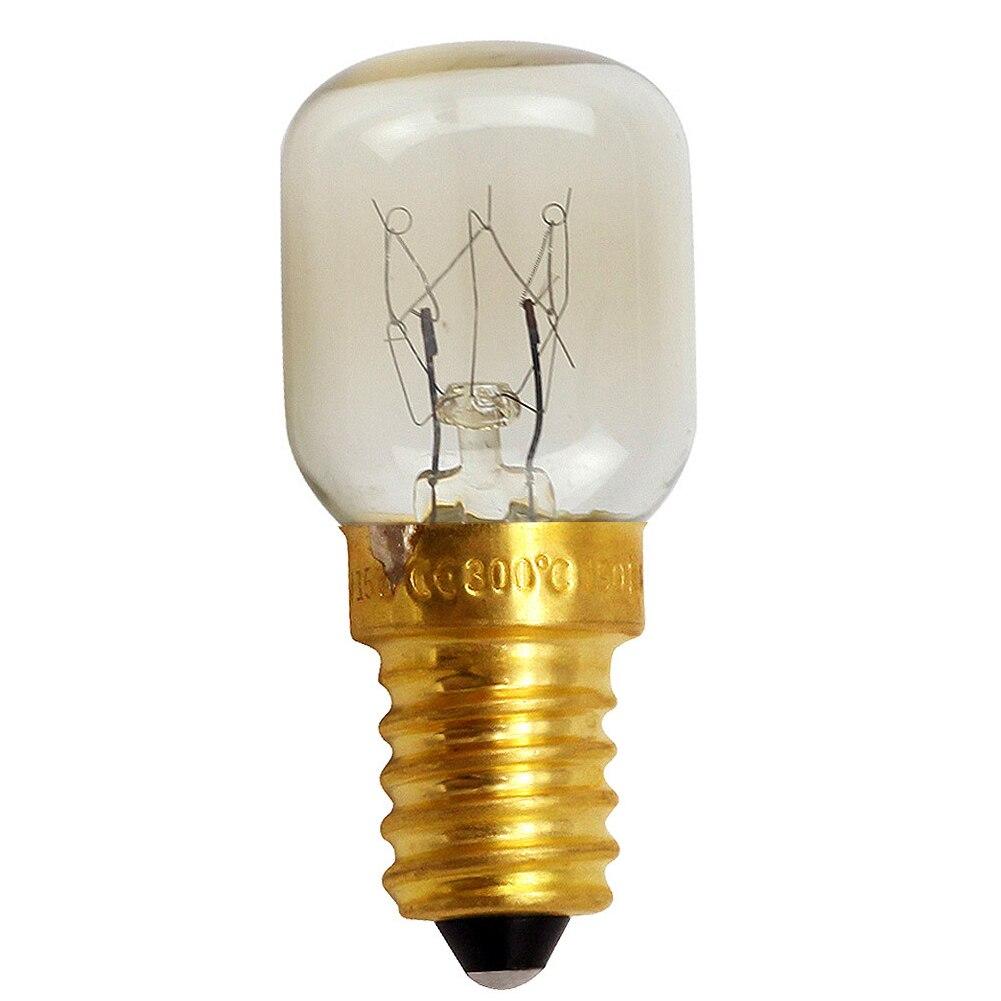 E12/E14 Incandescent Heat Resistant Oven Bulb Durable Microwave Copper Base Easy Install Salt Light Super Bright Professional