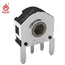 5 uds. De Mini codificadores de eje rotativo Kailh interruptores utilizados en la rueda de desplazamiento del interruptor del volante, 100.000 veces de vida CEN652812R01
