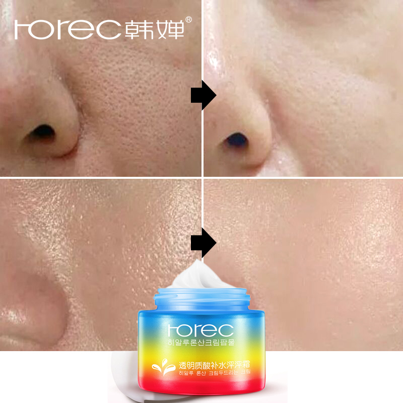 ROREC Hyaluronic Acid Face Cream Vitamin C Moisturizer Anti Wrinkle Melasma Whitening Cream Remover Pigmentation Lifting Skin