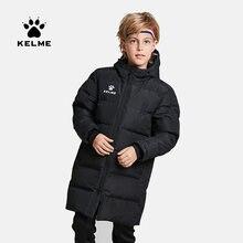 Детская зимняя куртка kelme длинное однотонное Спортивное тренировочное