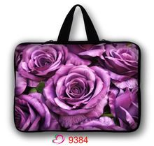 """Flower Neoprene Laptop computer Sleeve Case Bag Cowl Pouch For 10″ 12″ 13″ 14″ 15″ 17″ 15.6″ 17.three"""" Pocket book"""