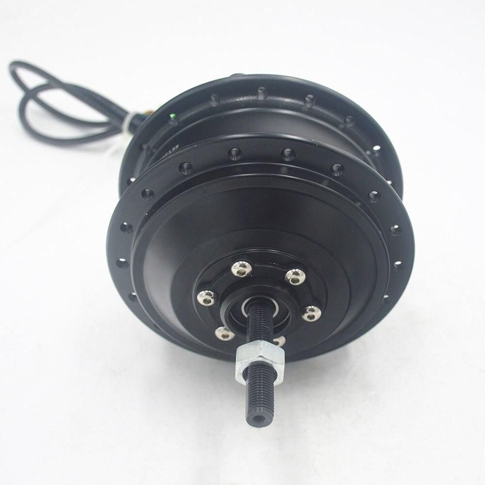 36 V 48 V 250 W de Alta Velocidade Sem Escova Motor Do Cubo Da Engrenagem e moto-Movimentação de Roda Traseira Do Motor DXF135