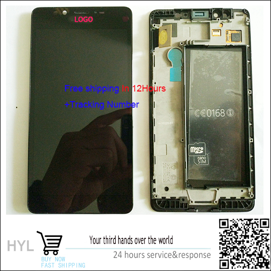 Original quality 100 NEW Touch screen digitizer LCD display with frame For Nokia lumia 950 fast