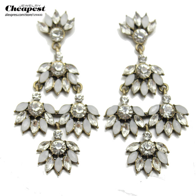 Unique New 2015 Fashion Austrya Crystal Jewelry Sets For Women Pendants