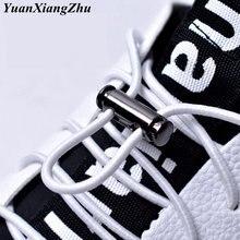 Эластичные шнурки с пряжкой 1 пара без шнурков металлическими