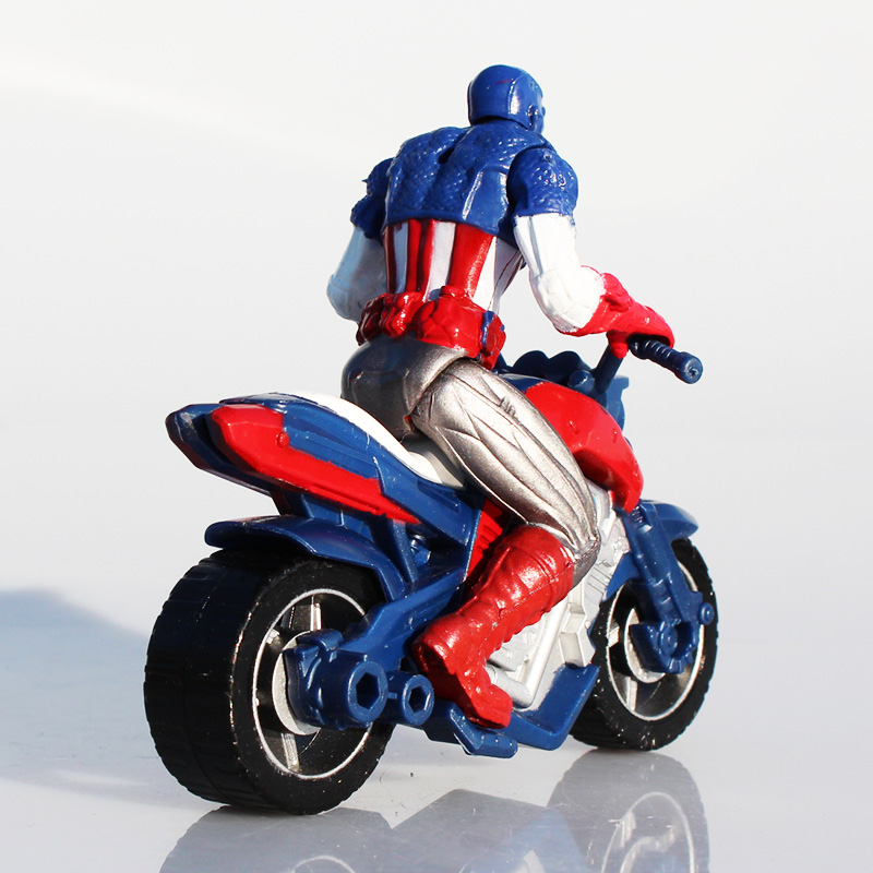 Motorcycle Toys For Boys : Captain america in motorcycle toy