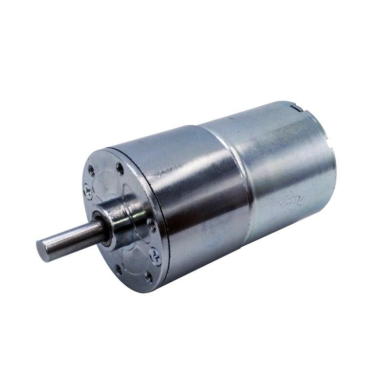 GA37RG 24V 12V dc motor 2/5/10/15/20/30/50/85/120/150/200/300/500/550/1000 RPM output speed Gear motor 37MM Central shaft