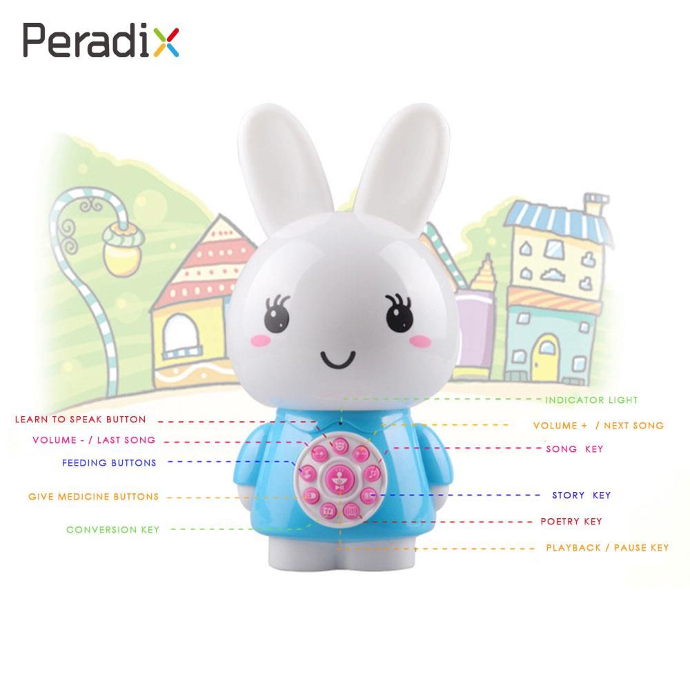 Creative Rabbit Story Machine Educational Multi-Functional Electric Interactive Ability Enhance Plastic