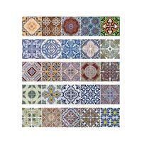 Arabische Stijl Tegelstickers Keuken Muursticker Waterdichte PVC Muur Papier Woondecoratie Accessoires Home Living Decor Sticker