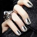 Nail Art Glitter Sliver Shinning Nail Glitter Mirror Powder Nail Art Decoration chrome nail powder 1g/box