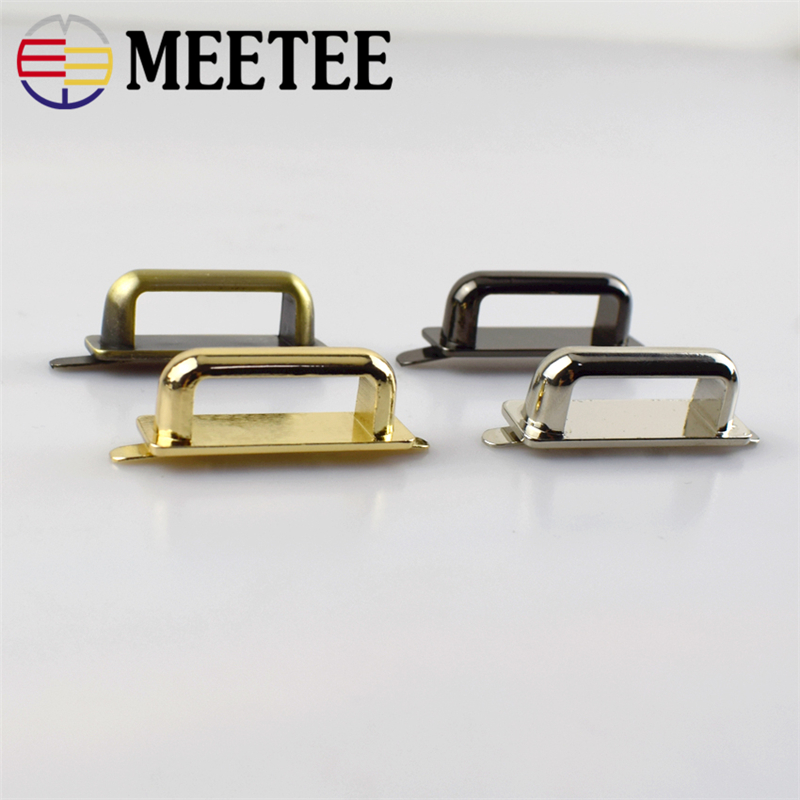 Handbag Clip DIY Hardware D-Ring  Side Buckle Strap 1 Pair for Bag Accessories