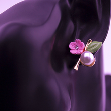 Fashion Women's Floral Stud Earrings