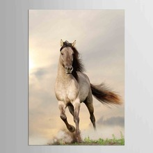 1 panel Brown Horse Poster Painting Art Picture Home Living Room Hotel Wall Decor