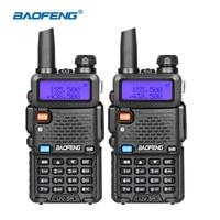 BaoFeng UV 5R Walkie Talkie Dual Band Handheld Two Way Radio Pofung 1800mah Portable Ham Radio Transceiver UV5R Toky Woky telsiz