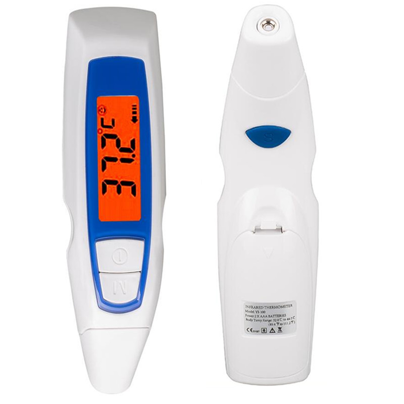 Non-contact Multi-Function Digital Termometro Gun Adult Baby Body Fever Temperature Monitor LCD electronic Ears Thermometer 40%