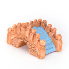 5 шт. мини винтажный мост орнамент миниатюрное украшение для сада в виде Феи Ландшафтный Декор Инструменты DIY аксессуары поставки случайный цвет