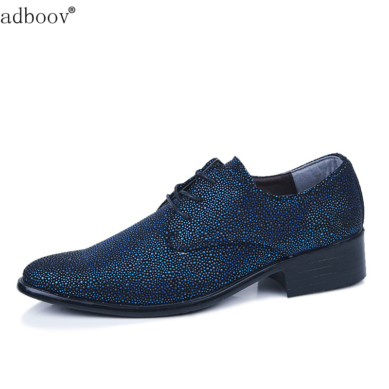 beautiful sky with stars style mens leather shoes man's fashion starry sky model glossy leather shoes blue red color party shoes blue sky чаша северный олень