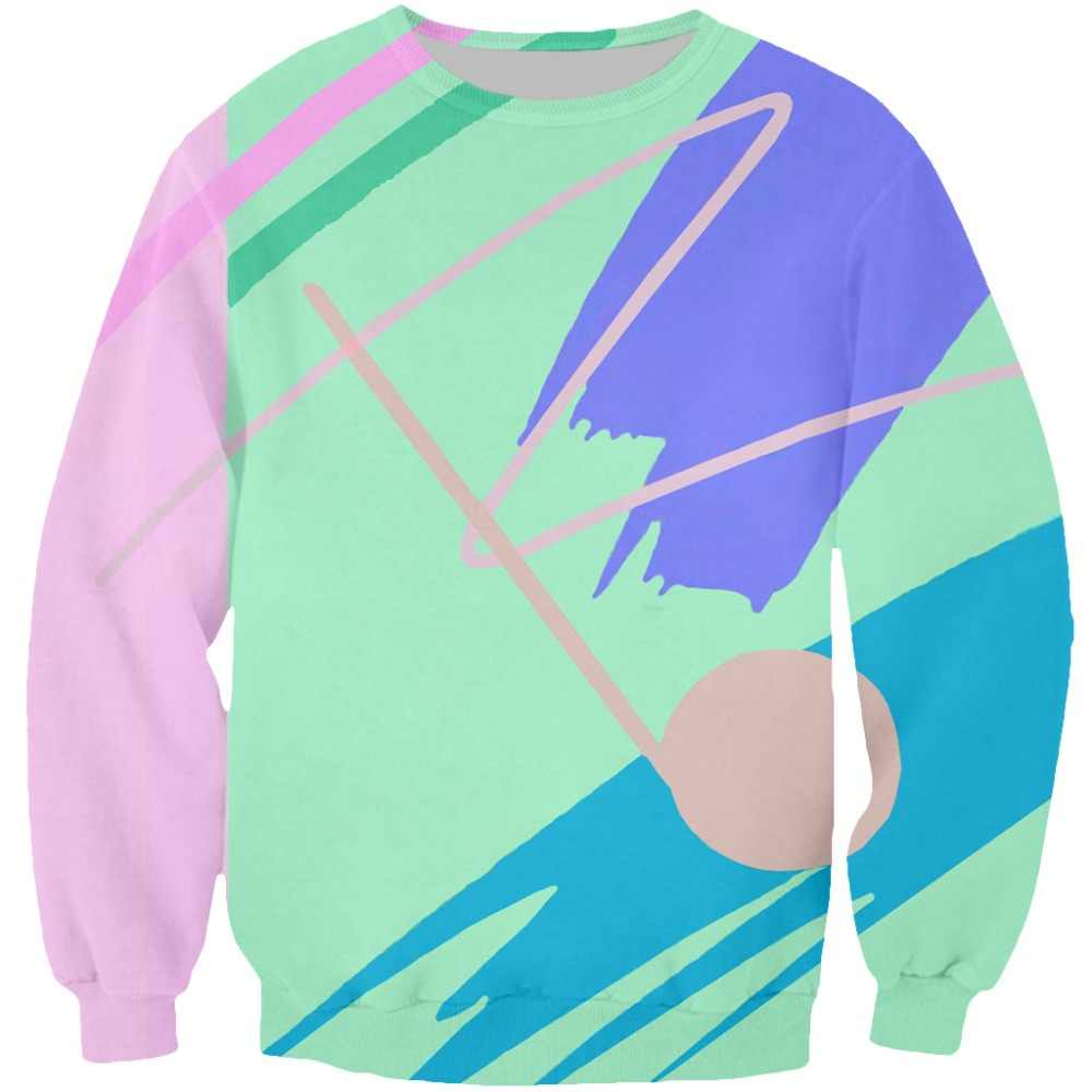 10c20365e Detail Feedback Questions about Plus Size S 5XL Men Women Long Sleeve  Outerwear Harajuku Hipster Pullover Fresh Paint V2 3D Print Crewneck Casual  Sweatshirt ...