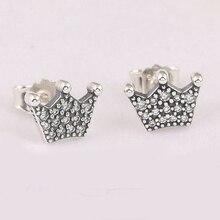 Pandora Women Silver Stud Earrings - 297127CZ OMnY5MRQf