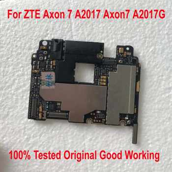 100% Tested Original Work Unlock Mainboard For ZTE Axon 7 A2017 Axon7 A2017G Motherboard Circuits Fee Flex Cable Accessory Set - DISCOUNT ITEM  11 OFF Cellphones & Telecommunications