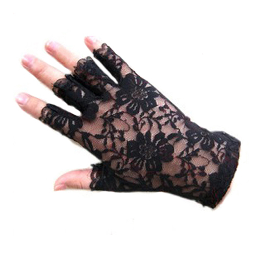 NEW Sexy Dressy Women Lady Lace Gloves Mittens Fingerless Gloves  Retail/Wholesale  599G 6R3K