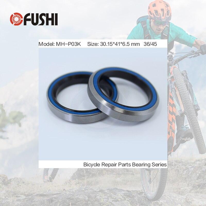 все цены на MH-P03K Bearing 30.15*41*6.5 mm 36/45 ( 1 PC ) Balls Bicycle 1-1/8 Inch Headset Repair Parts Ball Bearings онлайн