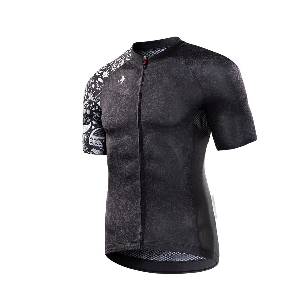 RION Men Cycling Jersey Motocross Short Sleeves Tops Bicycle Retro MTB Downhill Shirt Road Bike Team Autumn Sports Men Clothing 2