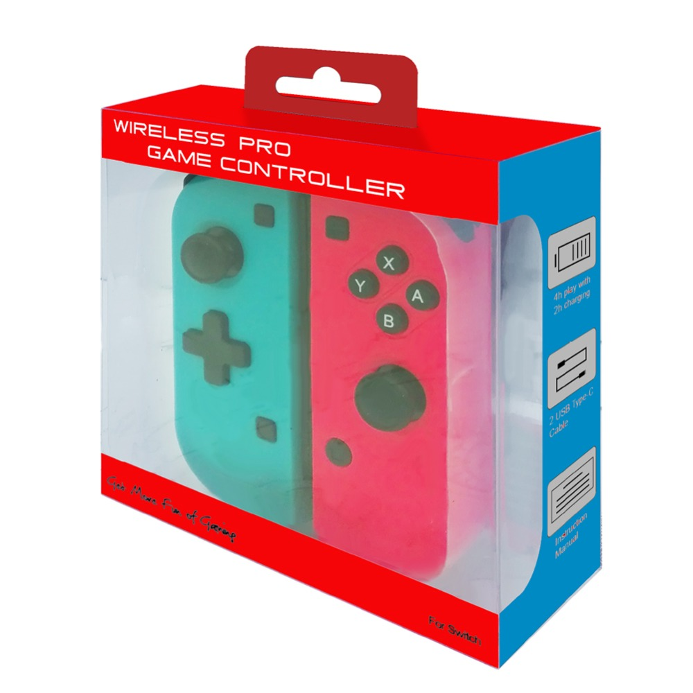 Wireless Bluetooth Gamepad Controller For Nintend Switch Console Joystick Joypad Games