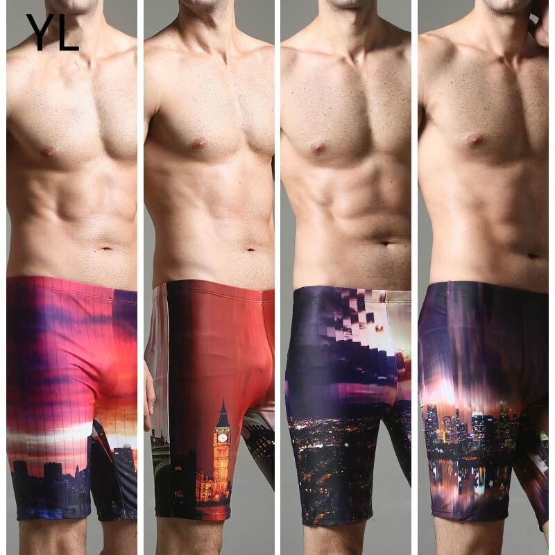 Hot Sale Men Beach Shorts Summer Board Shorts Loose Short Print Summer Pants High Quality Swimwear Men Swimming Suits L-4XL size