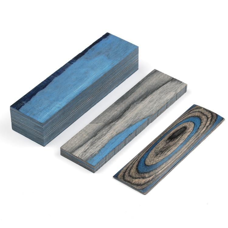 Laminated Color Wood Blanks Knife